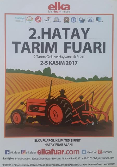 2. hatay tarım fuarı