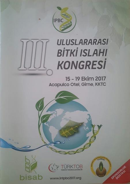 3. uluslararası bitki ıslahı kongresi